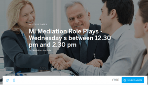 Wednesday Role Plays