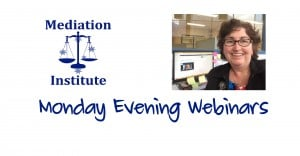 Monday Evening Webinars