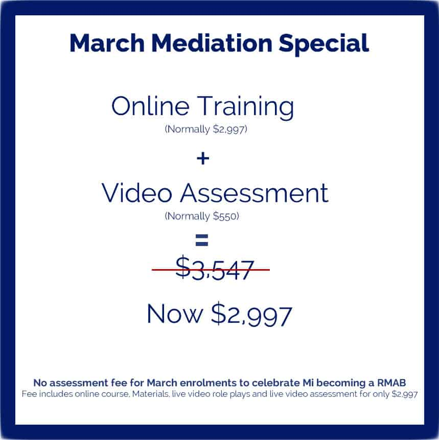 NMAS Accreditation Course – March Special