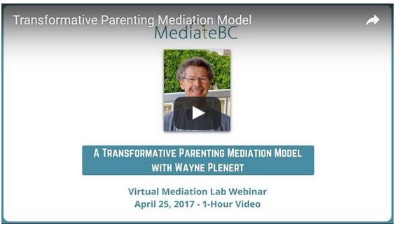 Transformative Parenting Mediation