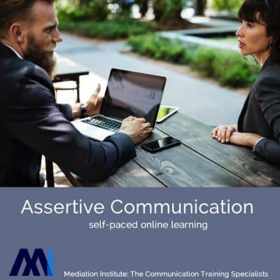 Assertive Communication self-paced online learning