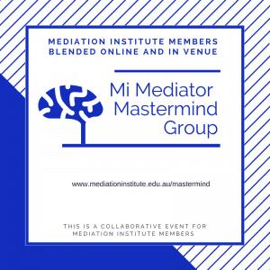 Mi Mediator Mastermind Group