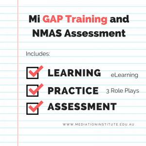 NMAS Gap Training and Assessment