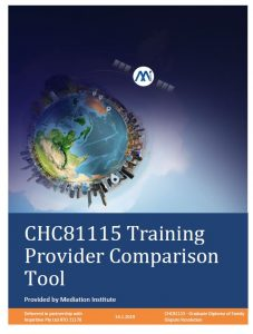 CHC81115 Training Provider Comparison Tool