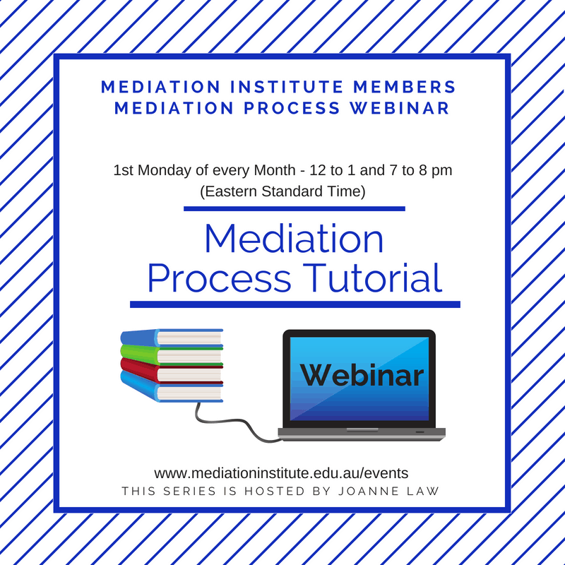 Mediation Process Tutorial