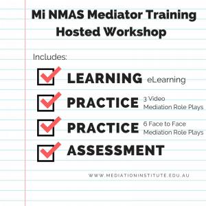 NMAS Mediator Hosted Workshop