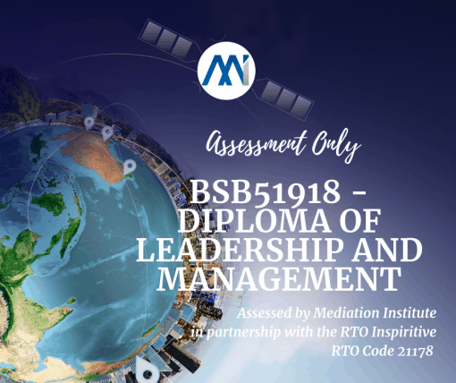 BSB51918 - Diploma of Leadership and Management (Community Services)