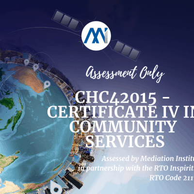 RPL CHC42015 Cert IV in Community Services