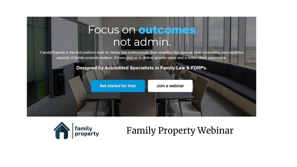 Family Property Webinar