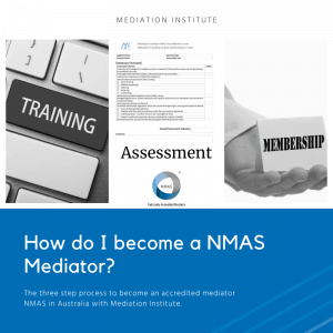 How do I become a NMAS Mediator?