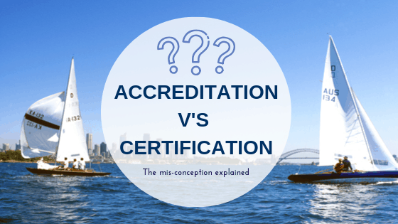 Accreditatoin vrs Certification