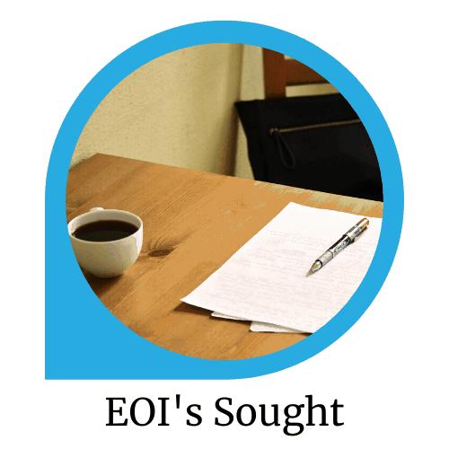 EOI's Sought