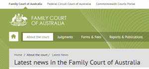 Family Court Website Snip