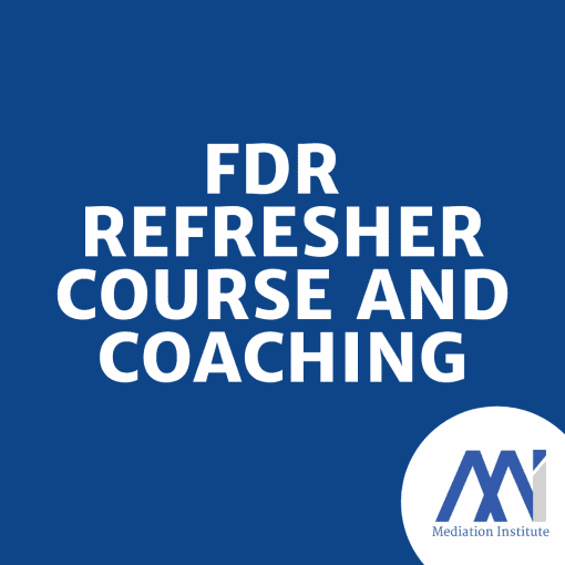 FDR Refresher Course