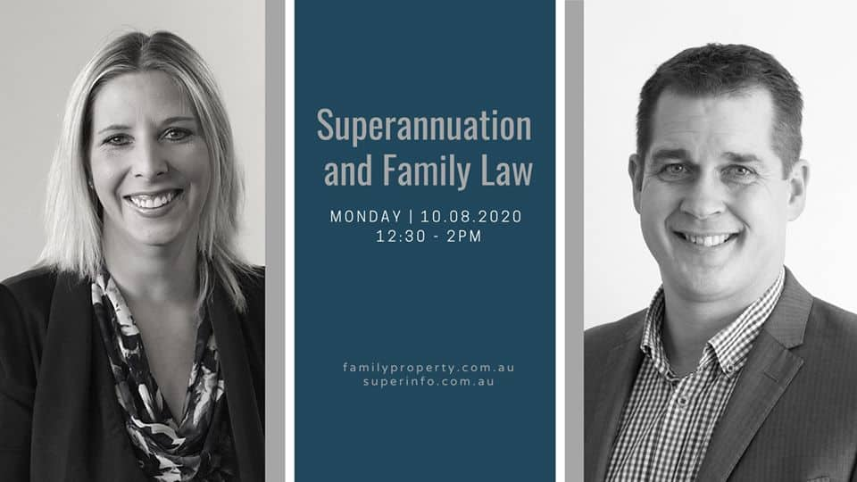 Superannuation and Family Law