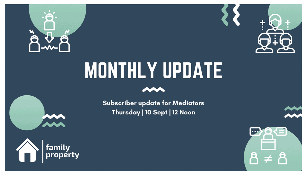 FamilyProperty Monthly Update