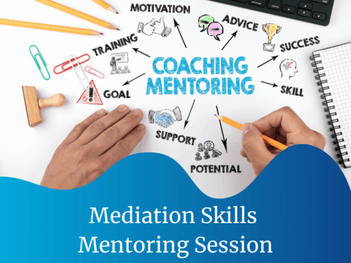 Mediation Skills Mentoring Session