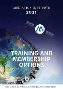 Training and membership options