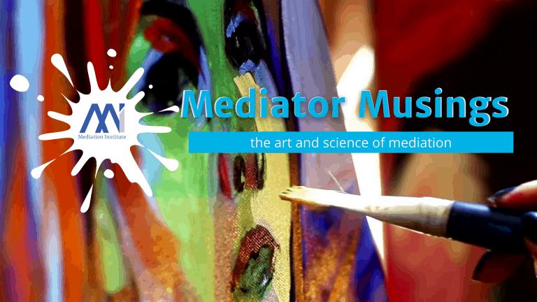 Mediator Musings
