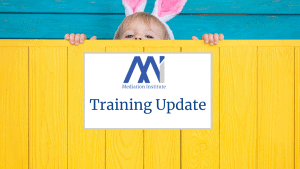 Training Update April 2021
