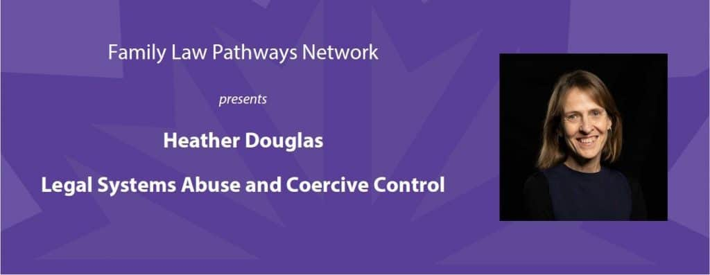 Legal Systems Abuse and Coercive Control