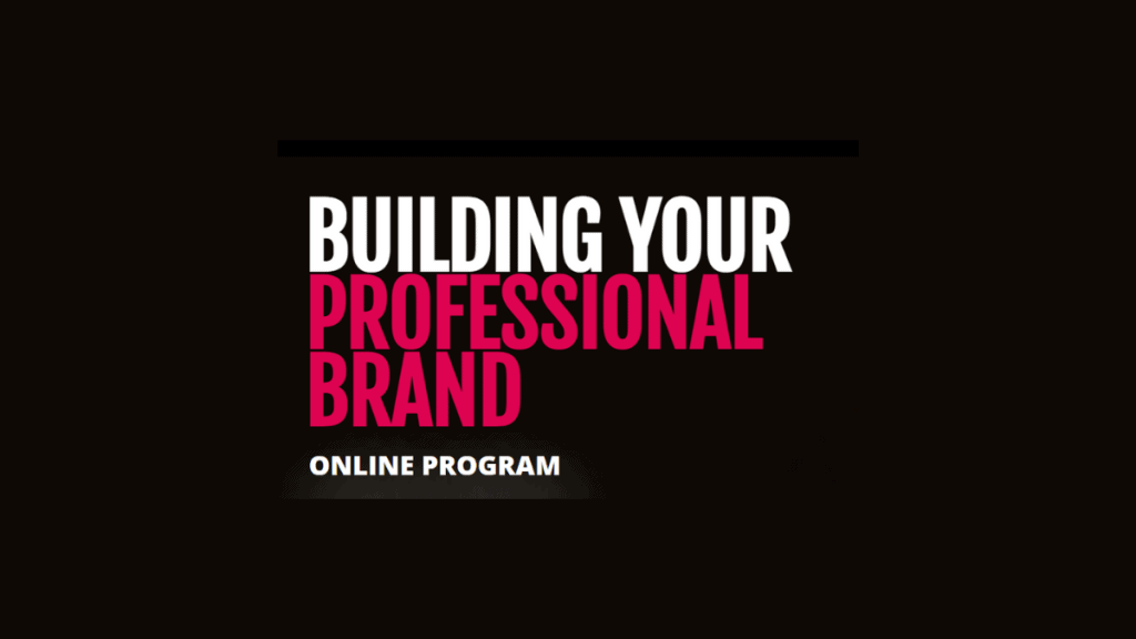 building your professional brand