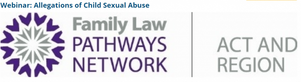 Allegations of Child Sexual Abuse