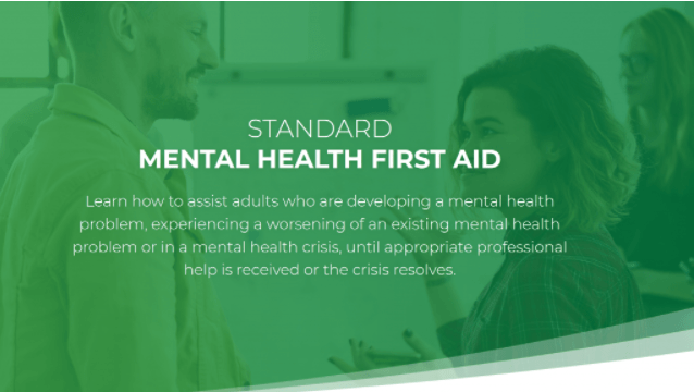 Mental Health First Aid for Mediators