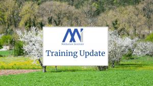 Training Update October 2021